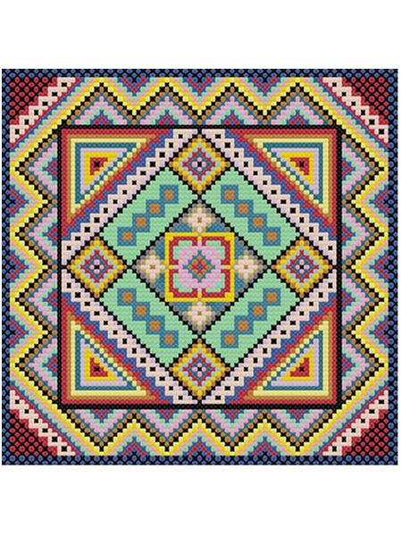 Вышивка на подушке крестом: схемы 55